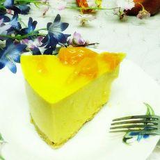 芒果慕司蛋糕