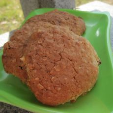 葡萄干燕麦甜饼