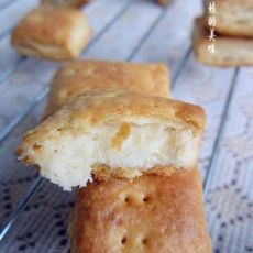 高钙奶盐苏打饼干的做法