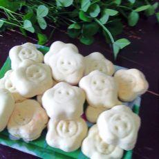 花儿笑饼干