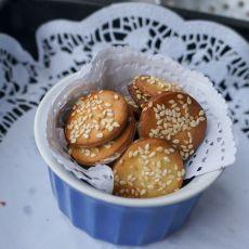 芝麻蜂蜜饼干