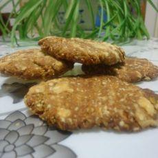 燕麦豆沙饼干