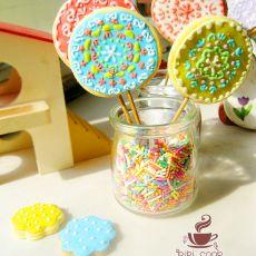 糖霜棒棒糖饼干