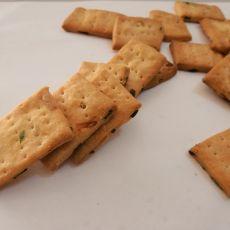 葱油香酥饼干的做法