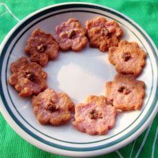 奶香紫薯饼干