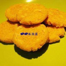 玉米豆渣饼的做法