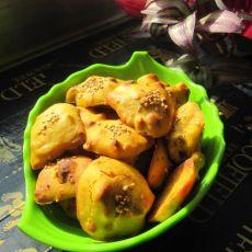 南瓜核桃饼干