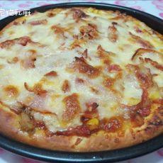 香辣培根金枪鱼披萨