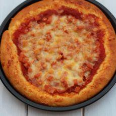 火腿批萨的做法