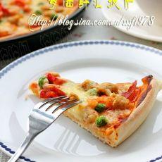 海陆鲜汇披萨
