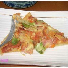 肉丁披萨的做法