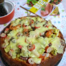 海鲜水果披萨