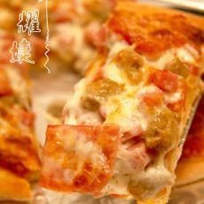 牛肉粒火腿pizza