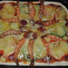 鲜虾至尊比萨