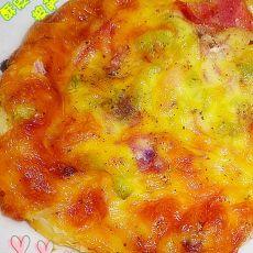 酥皮培根披萨