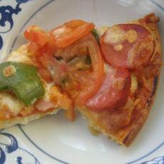 蔬菜香肠披萨
