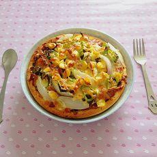 中西合璧披萨