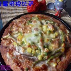 紫薯培根比萨