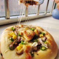 金枪鱼香辣小披萨