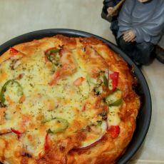三文鱼披萨