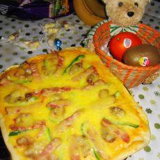 哈尔滨风干肠披萨的做法