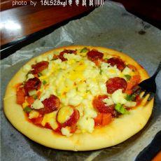 土豆腊肠披萨