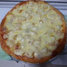 杂果批萨的做法