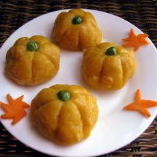 南瓜饼―宝宝美食的做法