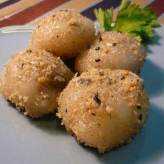 绿豆沙糯米糍