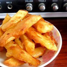 【原创首发】炸土豆条