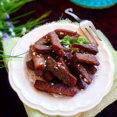 风味手撕牛肉条