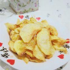 家庭版炸薯片