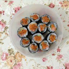 火腿肉松寿司