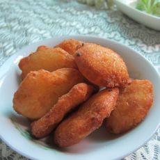 炸土豆饼的做法