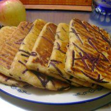 紫薯丝地瓜饼