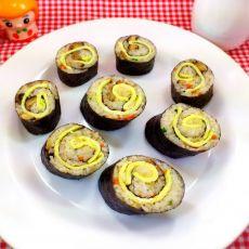 咸香紫菜糯米卷
