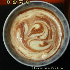 巧克力云石巴戈利亚奶油