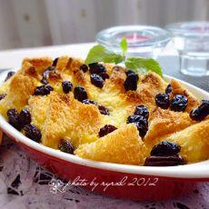 葡萄干面包布丁