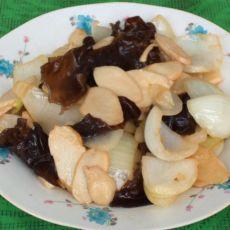 洋葱杏鲍菇的做法