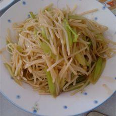 芹菜土豆丝