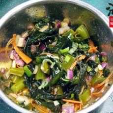 红油凉拌裙带菜