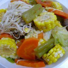 上汤烩杂蔬的做法