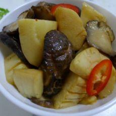 香菇炒冬笋的做法