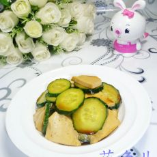 素鸡拌青瓜
