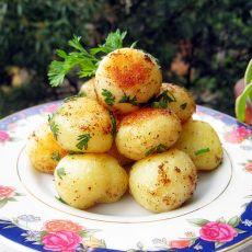 椒盐孜然小土豆的做法