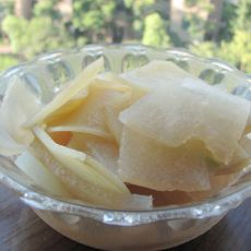 土豆烧冬瓜的做法