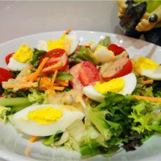 西式沙拉的做法
