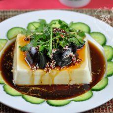 皮蛋豆腐――下酒菜