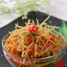 凉拌龙须菜―夏日减肥开胃解暑菜的做法
