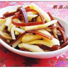 【原创首发】苹果京糕双拌丝